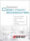 Brochure Clean room accessories
