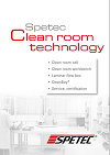 Brochure Clean room technology cover